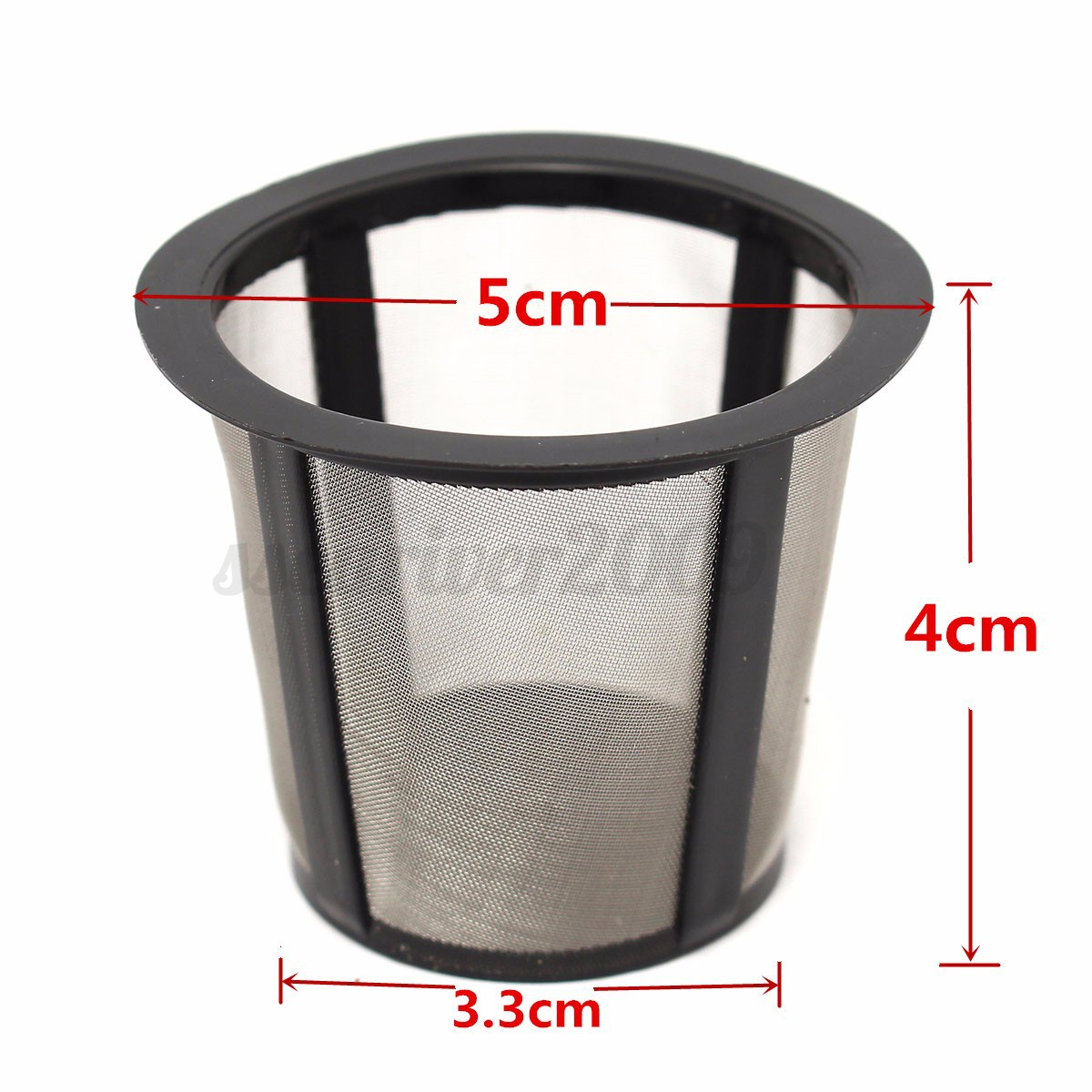 Coffee Filter Set Filter Housing+3 Extra Filters K-cup Set Reusable For Keurig