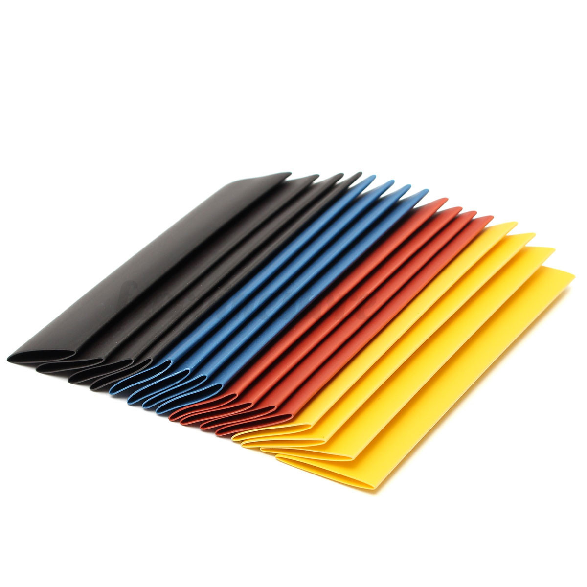 Pcs sizes car electrical cable heat shrink tube