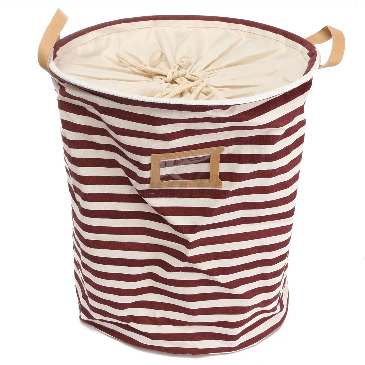 Cotton Linen Sorter Bag Washing Laundry Hamper Toys
