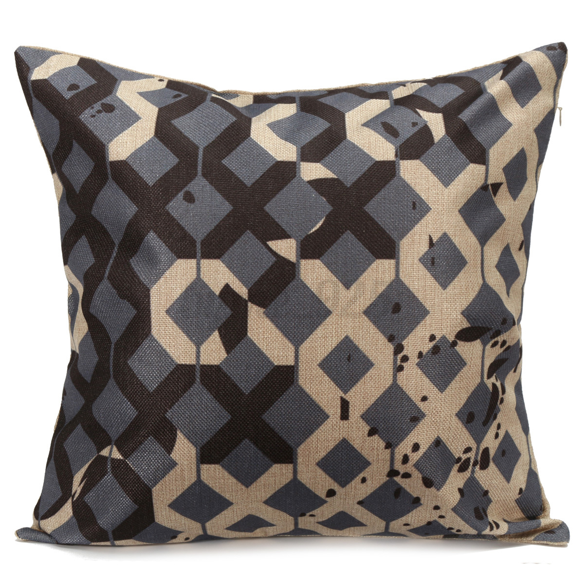 Cotton Linen Home Decor Throw Pillow Case Cushion Cover Geometry Nature eBay