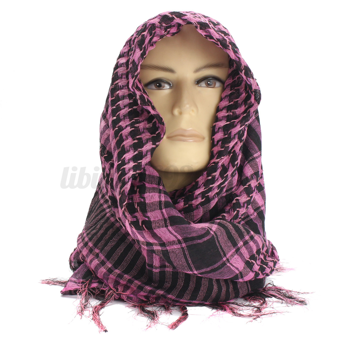 Shemagh-Militare-sciarpa-Tattico-Keffiyeh-Uomo-Donna-Scarf-Foulard-Kefiah-Araba miniatura 14
