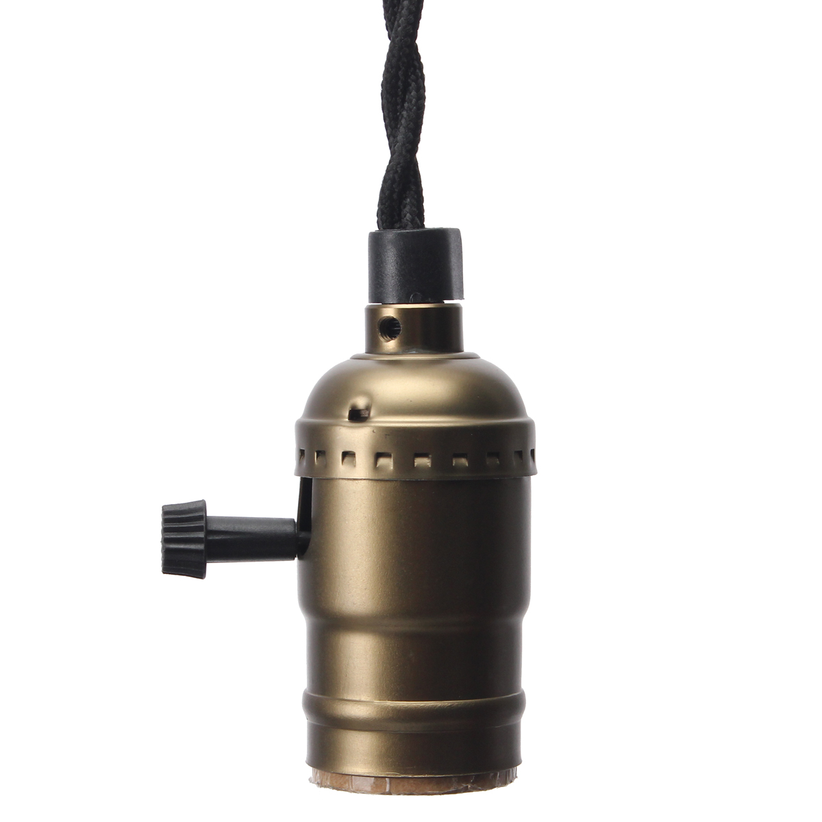 Pendant Light Kit With Switch : Kingso e socket hanging textile cord pendant light