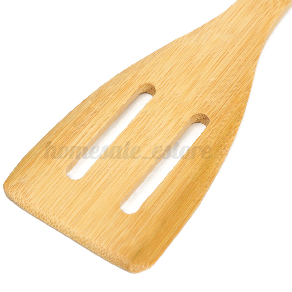 7 piece set bamboo utensil kitchen wooden cooking tools for Kitchen tool 6pcs set