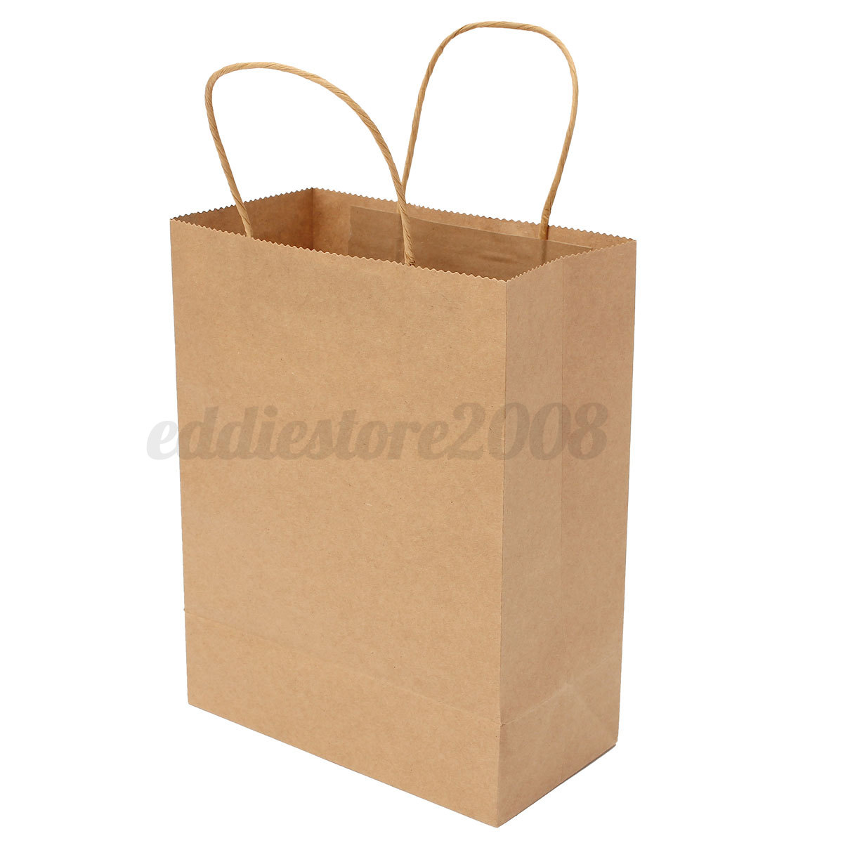 coloful recyclable paper gift bag with handle for shopping