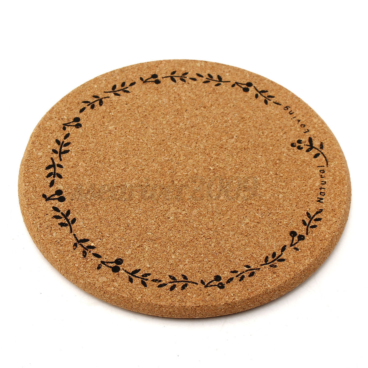 Cork Wood Drink Coaster Tea Coffee Cup Pads Tableware Mat