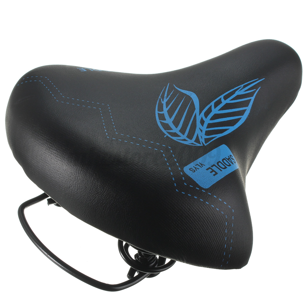 Mountain Bike Bicycle Cycling Saddle Black Comfort Soft Riding Seat Pro Road