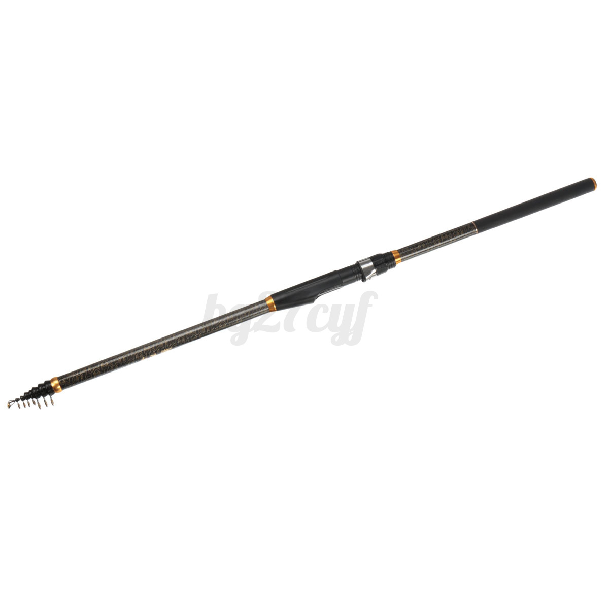 Carbon fiber fishing rods telescopic casting for Telescoping fishing pole