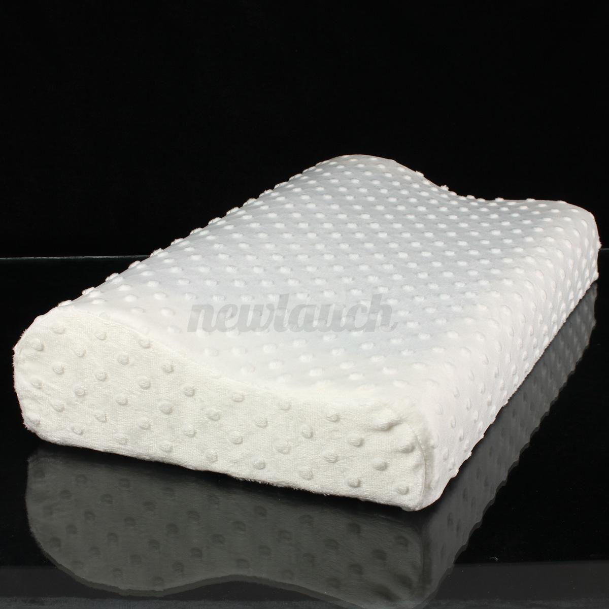 Contour Memory Foam Comfort Cooling Gel Pillow
