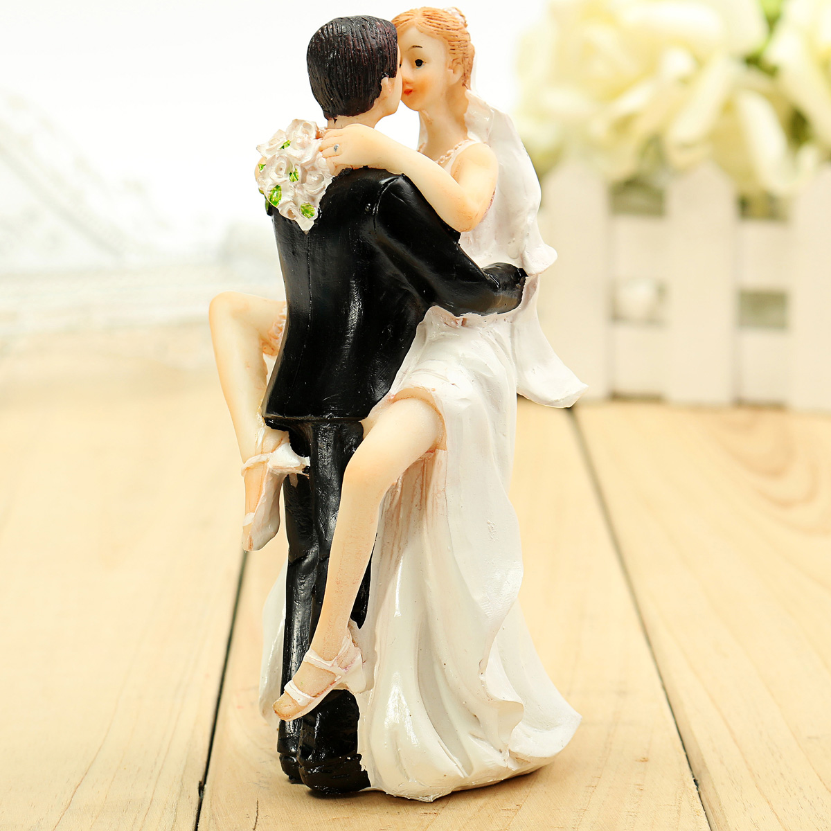 wedding cake topper figurines groom resin wedding cake topper figurine 26319