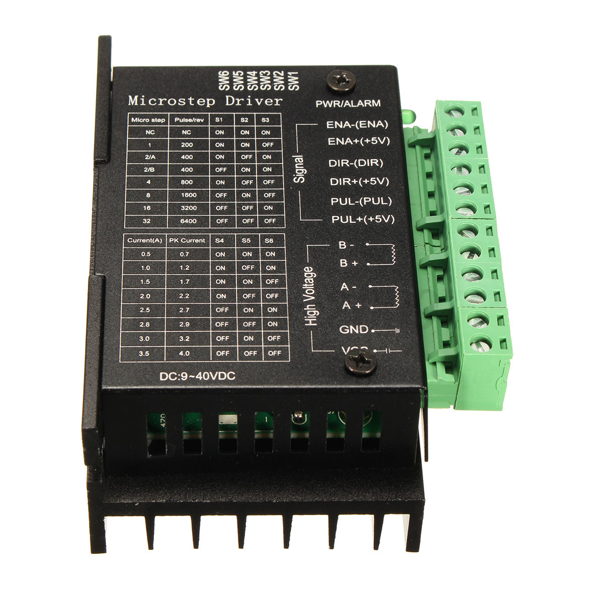 5 pcs cnc single axis 4a tb6600 2 4 phase hybrid stepper for Stepping motors and their microprocessor controls