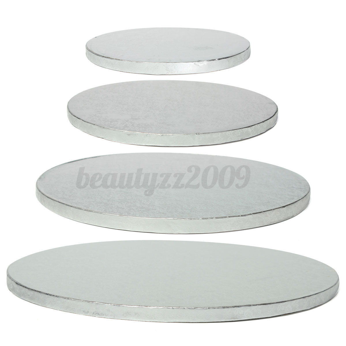 Round Cake Thick Drum Board Holder Strong Base For Wedding Birthday Bake