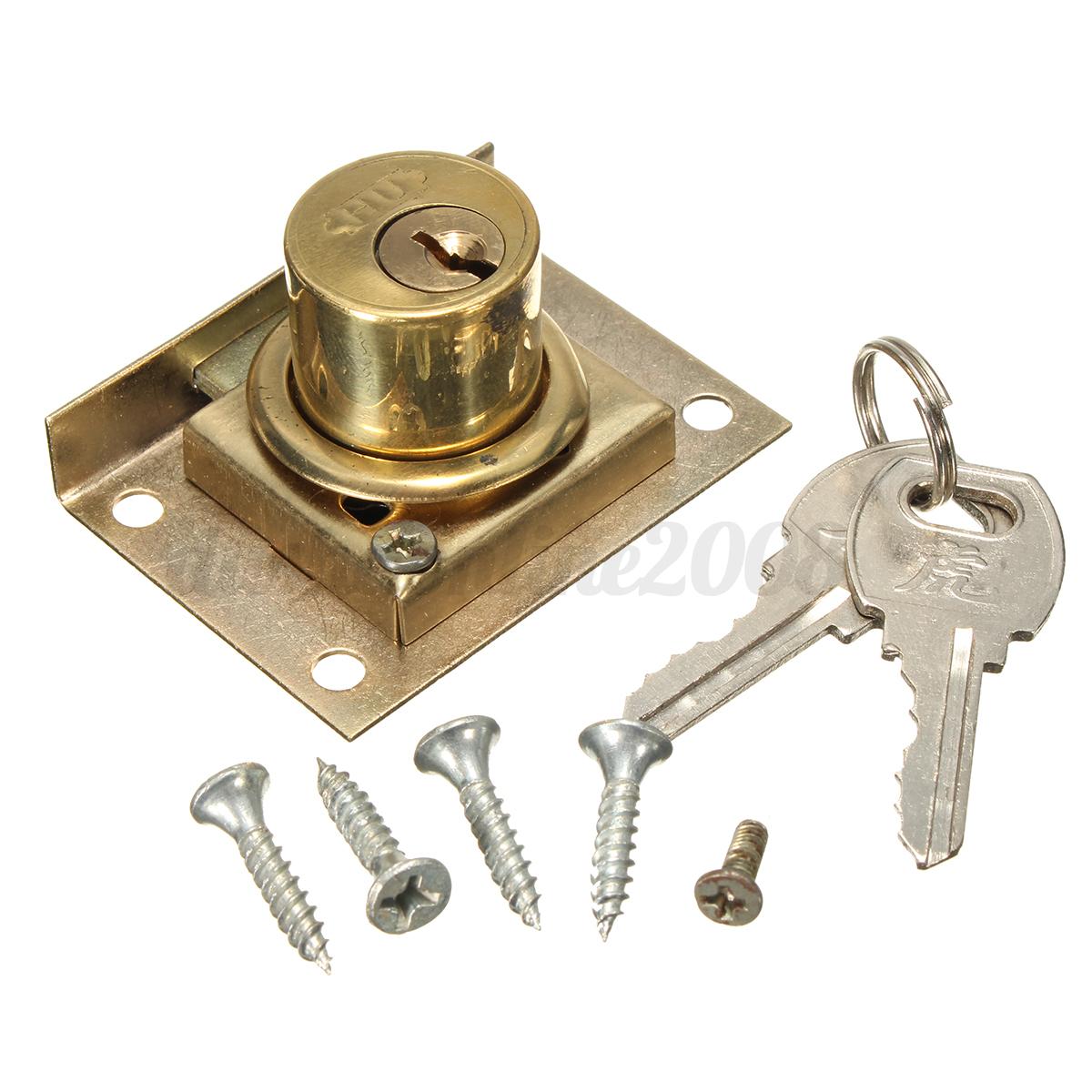 2set cam lock file cabinet desk drawer locker with 2 keys for Cam lock kitchen cabinets