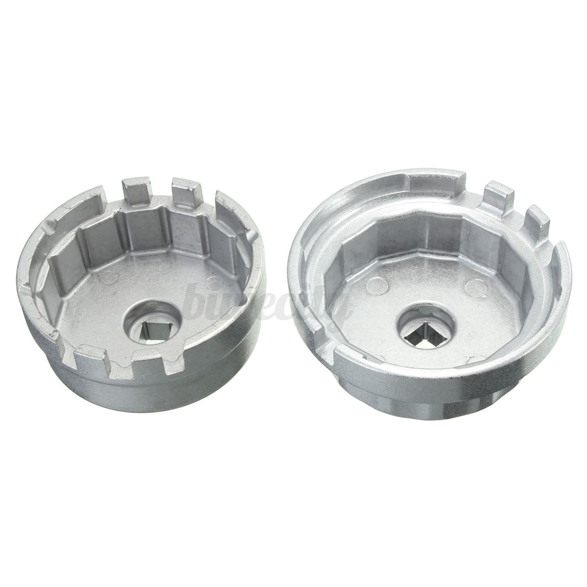 2Pcs Oil Filter Cup Wrench Set 64.5mm 14 Flute Fit For