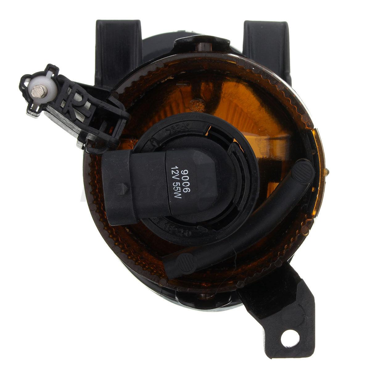 Pair 55w 12v Fog Light Lamp W 9006 Bulb For Vw Volkswagen