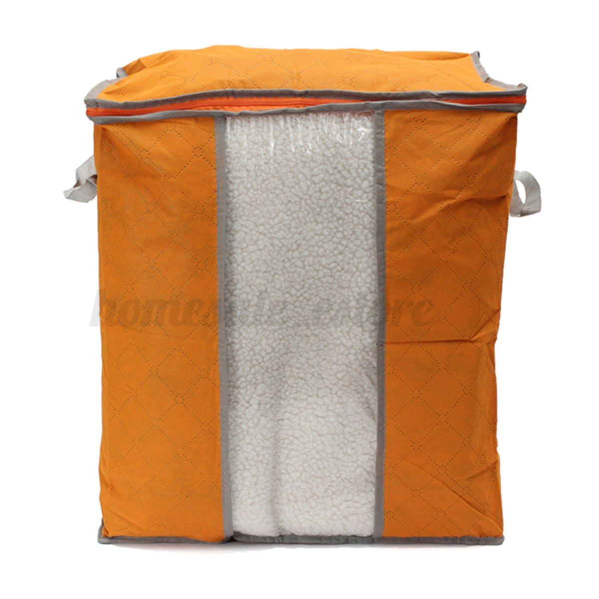Foldable Storage Bag Clothes Blanket Closet Sweater