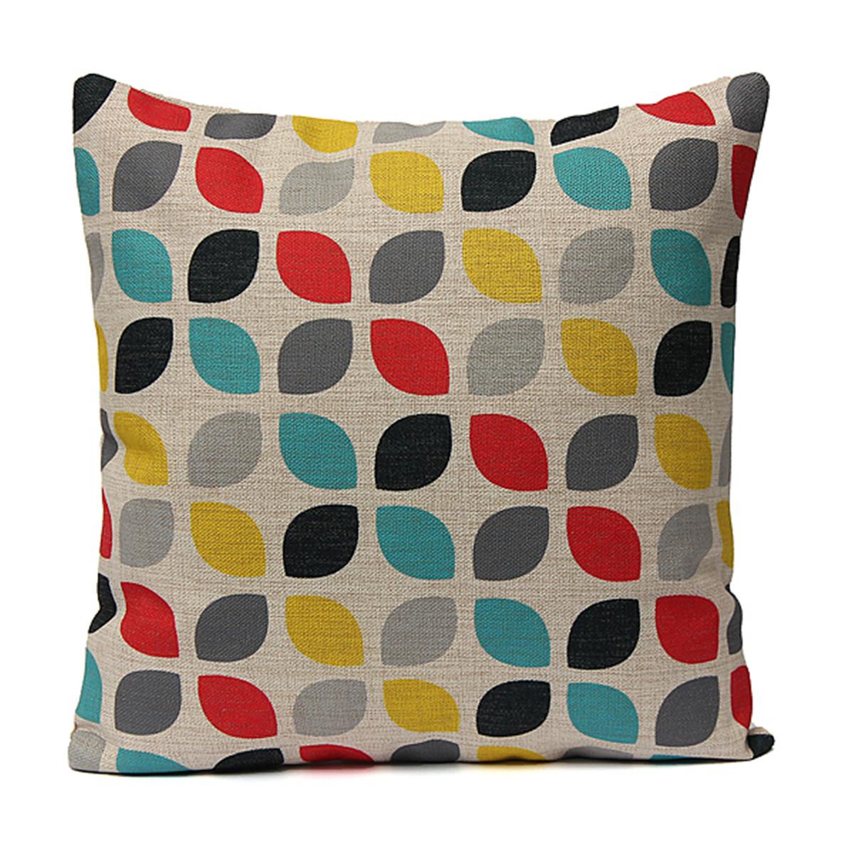 Vintage-Cotton-Linen-Cushion-Cover-Waist-Throw-Pillow-Case-Home-Sofa-Car-Decor