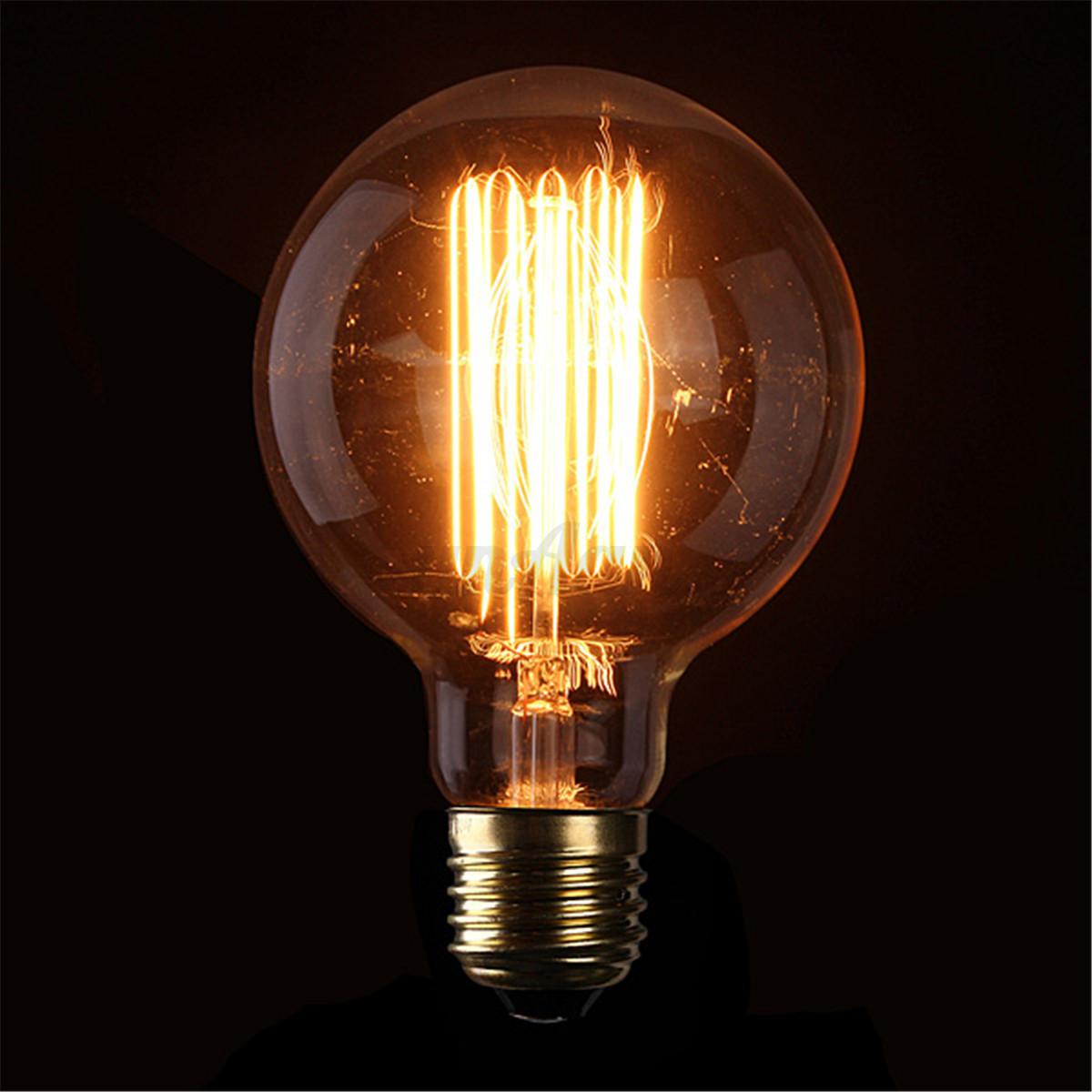 e27 e14 b22 40w 60w edison gl hbirne vintage retro lampe filament leuchtmittel ebay. Black Bedroom Furniture Sets. Home Design Ideas
