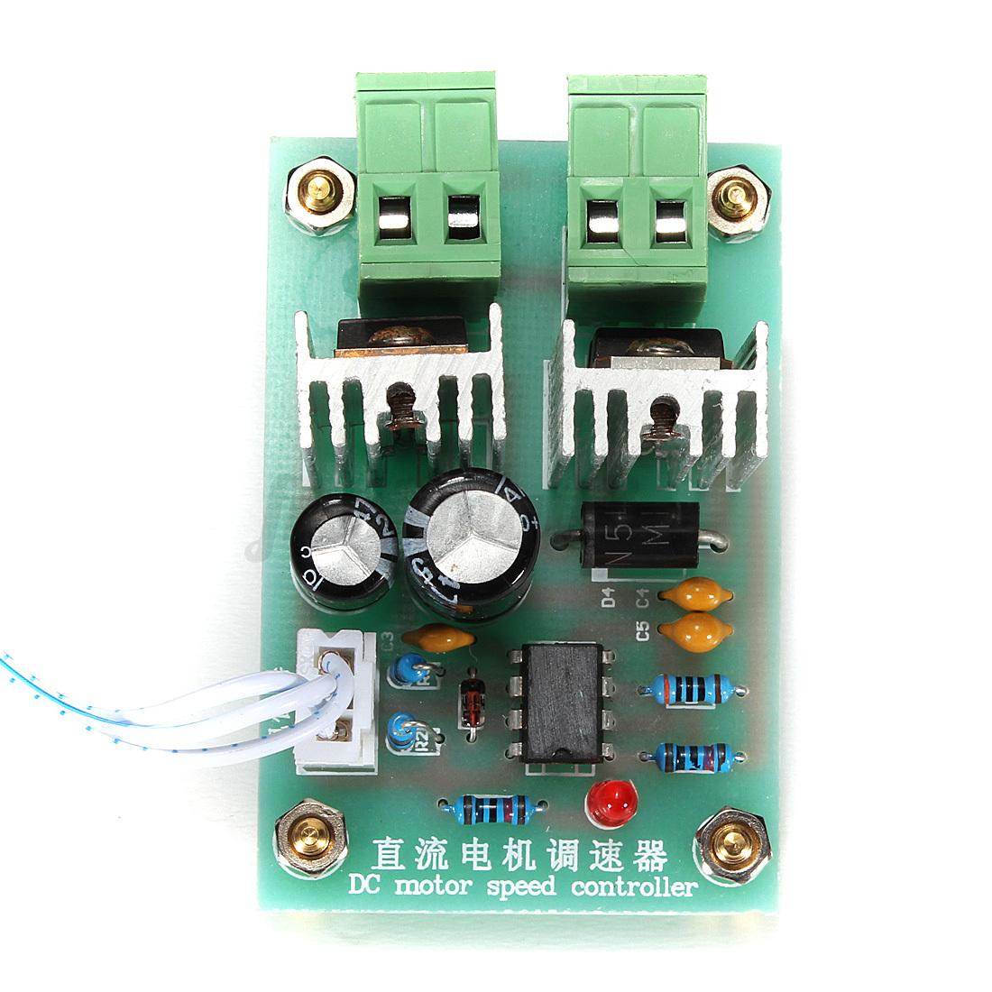 Dc 10a 12v 24v 36v 25khz Dc Motor Driver Control Switch