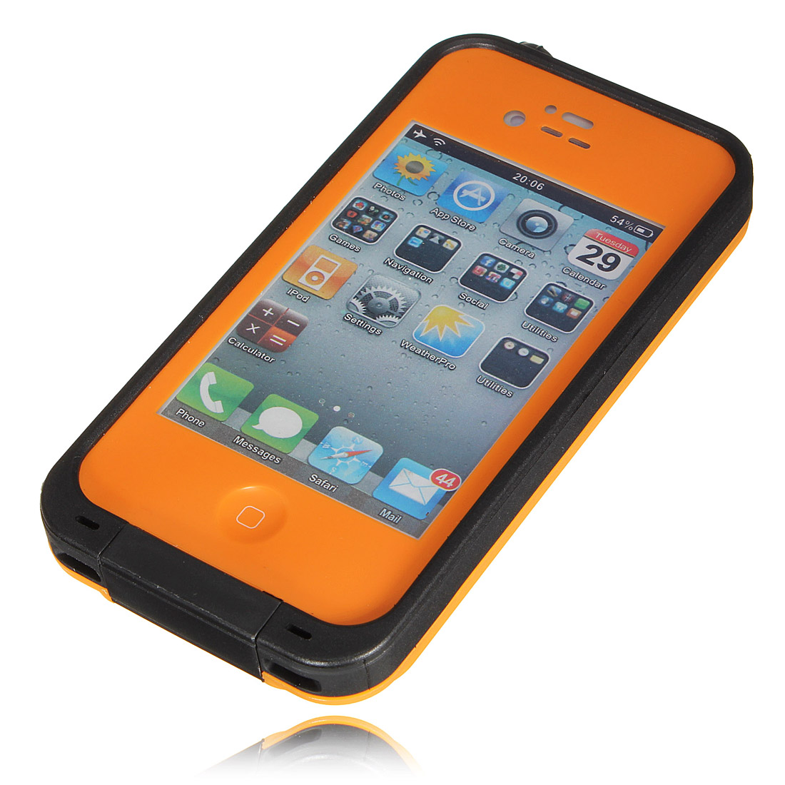 iphone 4 cases waterproof pc waterproof shockproof dirt proof durable 14377