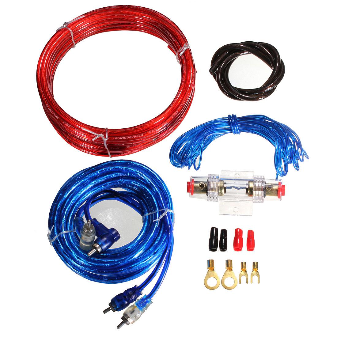 Detail Image  sc 1 st  eBay : 10 gauge amp wiring kit - yogabreezes.com