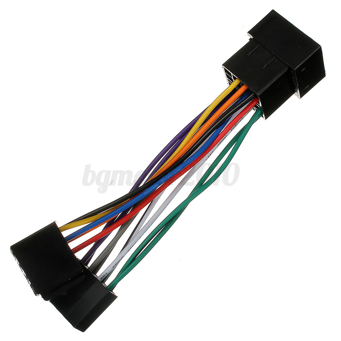 Adapter Cable Iso Autoradio Stereo For Peugeot 106 206 306