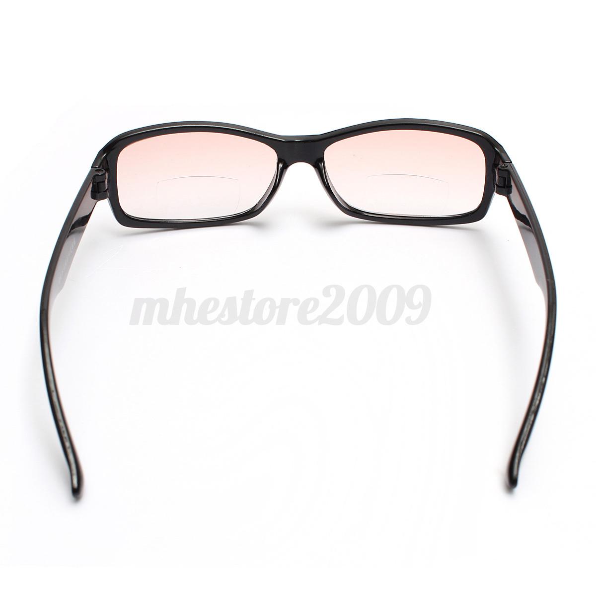 unisex lightweight dual function bifocal reading glasses