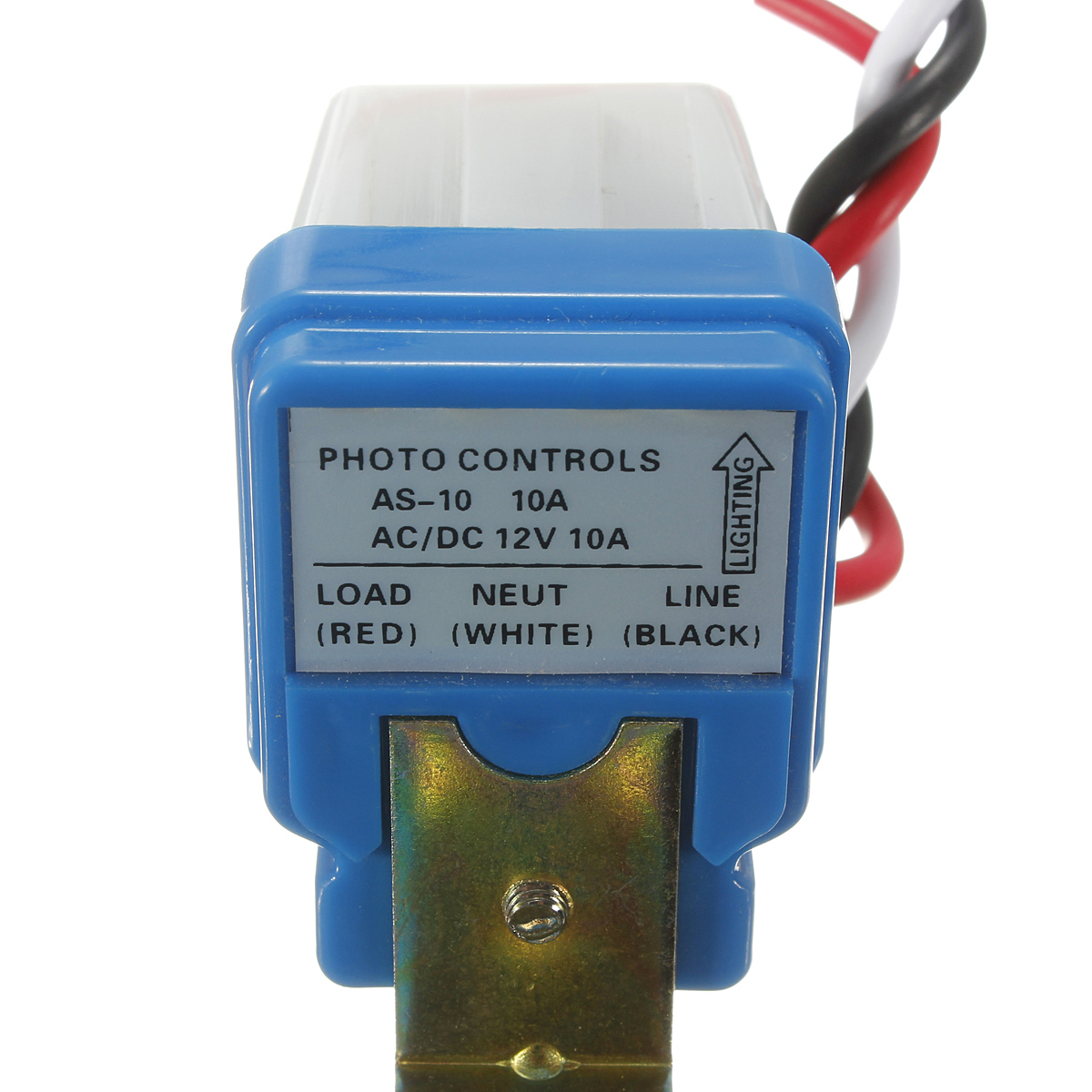New Ac Dc 12v 10a Auto On Off Photocell Street Light