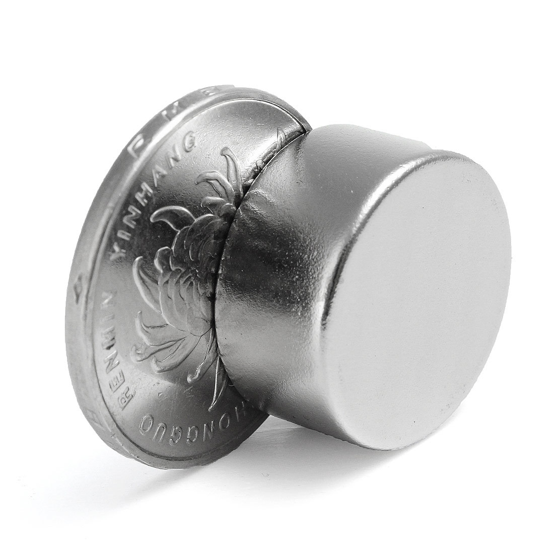 1Pcs Cylinder N52 Round Rare Earth Neodymium Strongest Grade Magnet 20mm x 10mm