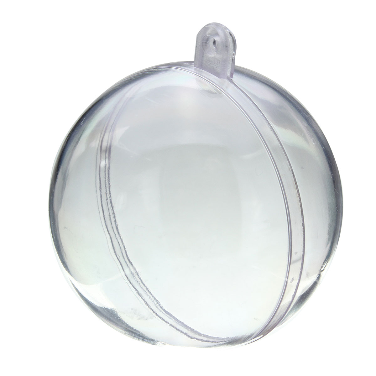 Plastic ornament - Clear Plastic Christmas Ball Ornament Crafts Clear Plastic Christmas Ball Ornament Crafts Detail Image
