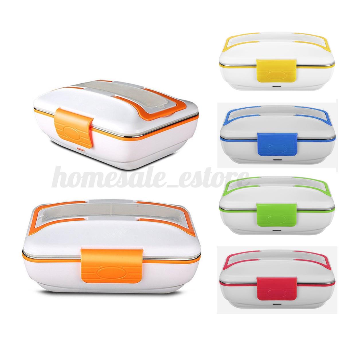 Portable Food Warmer Box ~ Portable electric heating food warmer truck car lunch box