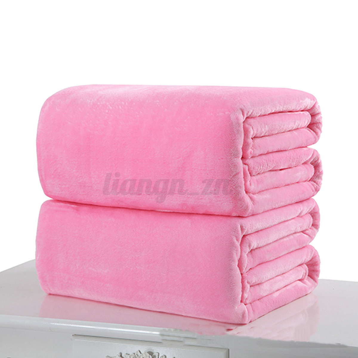 6 tailles doux couverture chaud corail plaid flanelle canap tapis polaire hiver ebay. Black Bedroom Furniture Sets. Home Design Ideas