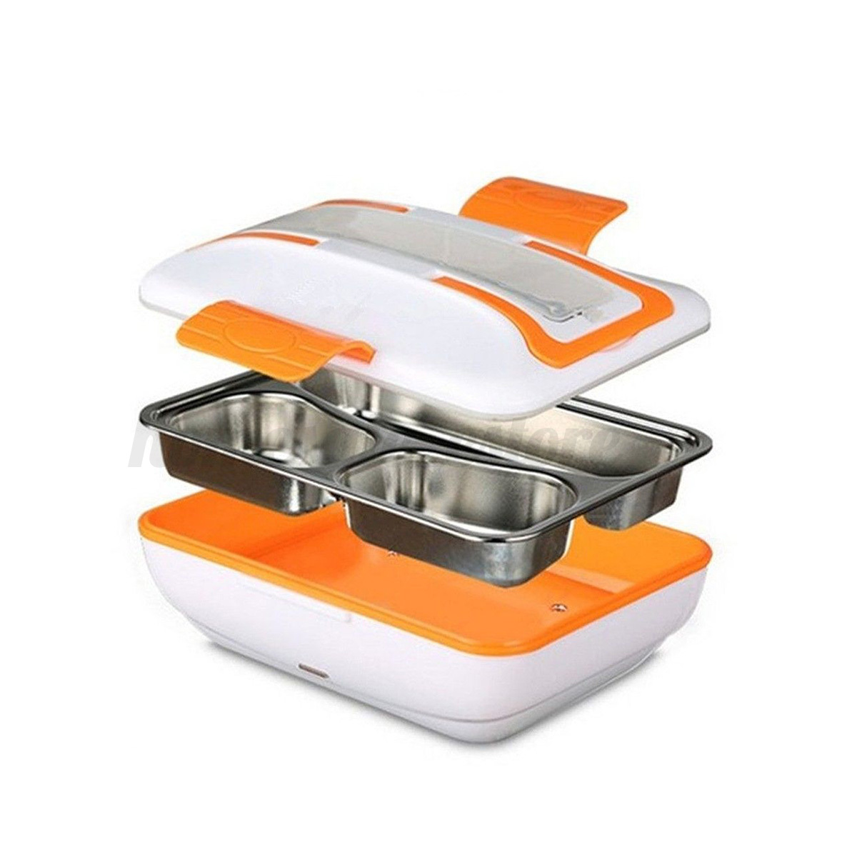 Portable Electric Heating Food Warmer Truck Car Lunch Box
