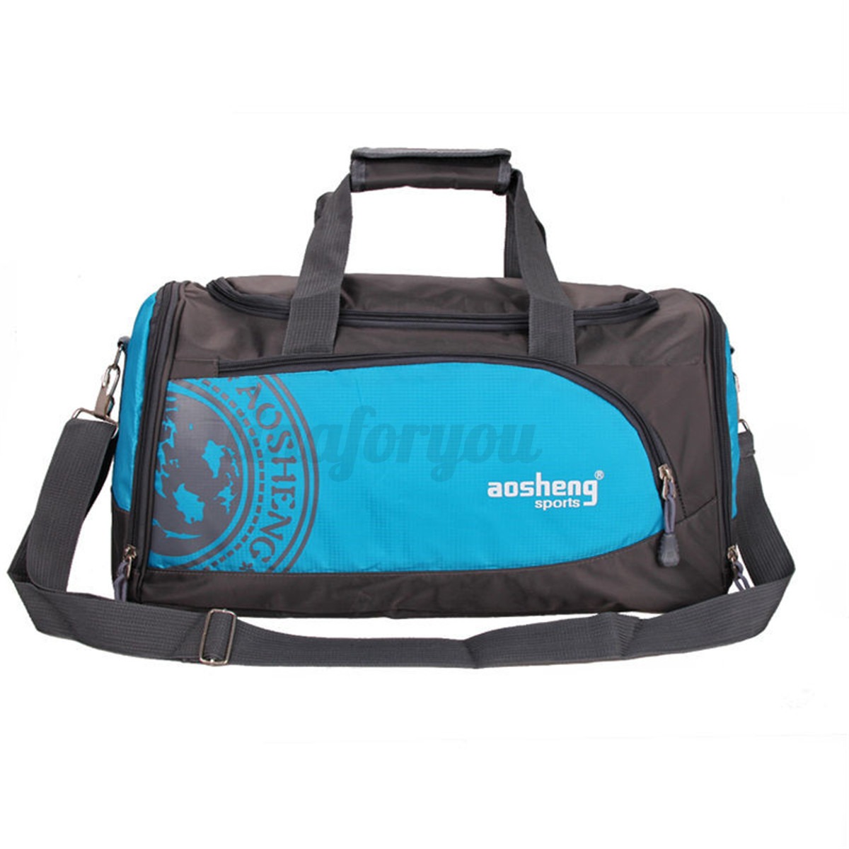 men woman large gym bag shoulder tote handbag sport travel work messenger bags ebay. Black Bedroom Furniture Sets. Home Design Ideas
