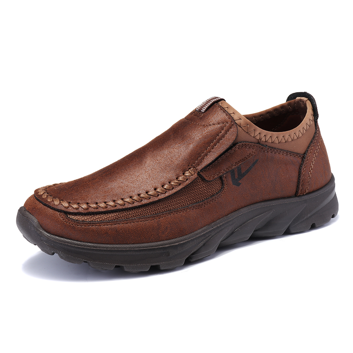 Men-039-s-Casual-Leather-Slip-On-Driving-Loafers-Antiskid-Moccasins-Breathable thumbnail 5