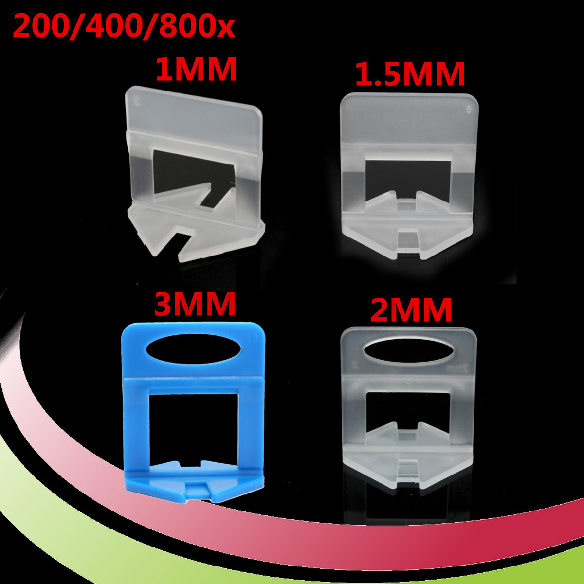 200400800pcs tile leveling system levelling clips for wall floor image is loading 200 400 800pcs tile leveling system levelling clips dailygadgetfo Image collections