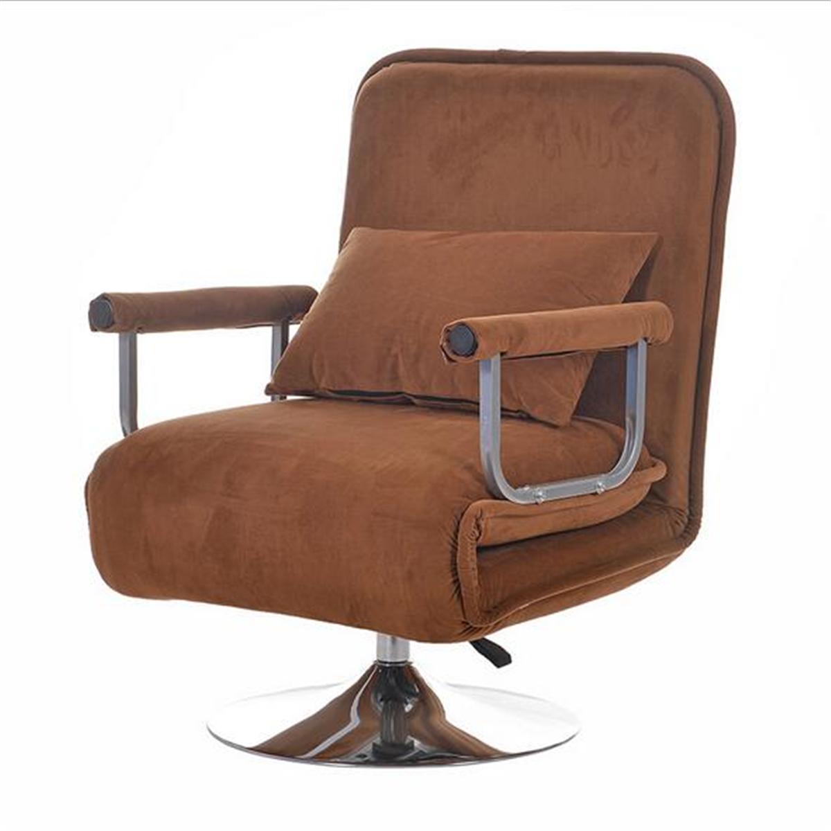 Convertible Rotation Sofa Bed Folding Arm Chair Sleeper ...