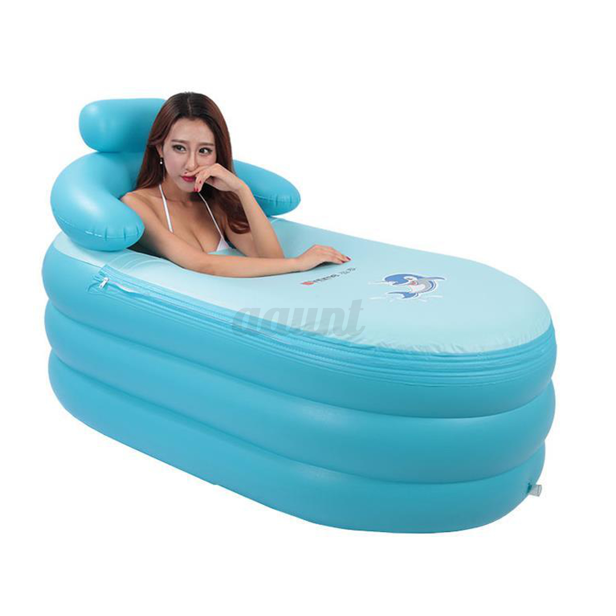 4 Sizes Adult Amp Child Spa Pvc Folding Portable Bathtub
