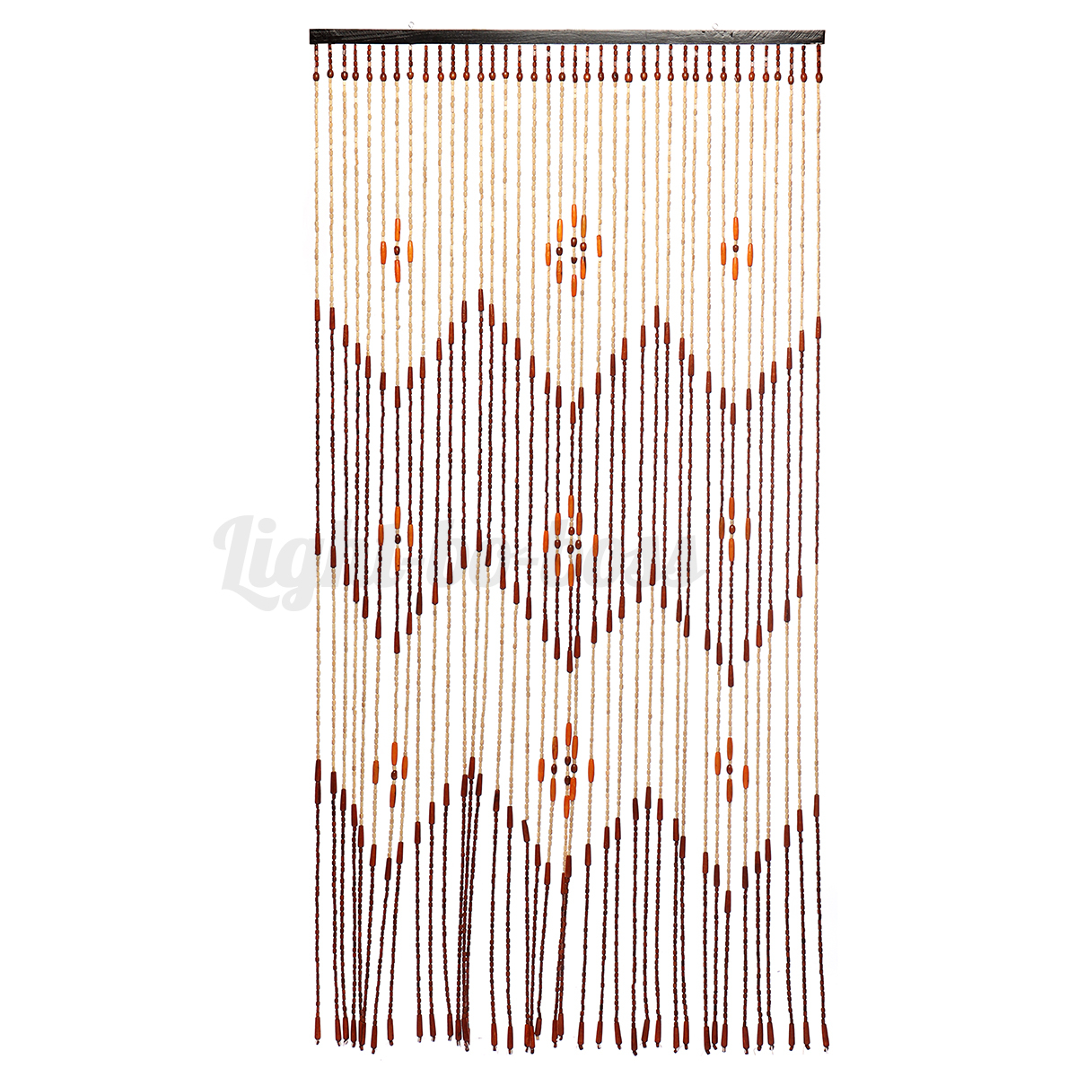 6 Types Wooden Bamboo Beaded Curtain Door Fly Screen Porch