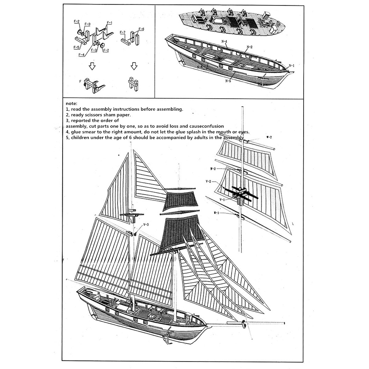 1100 scale wooden wood sailboat ship kits home model decoration detail image pooptronica Choice Image