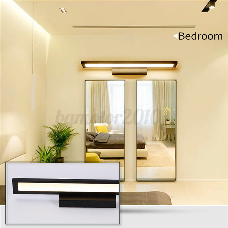 5w 8w 11w lampe applique led lumi re mur blanc pour salle de bain miroir tableau ebay. Black Bedroom Furniture Sets. Home Design Ideas
