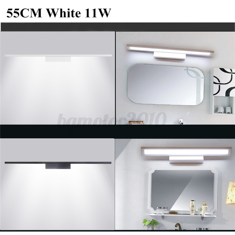 5W 8W 11W Lampe Applique LED Lumi¨re Mur Blanc Pour Salle de Bain