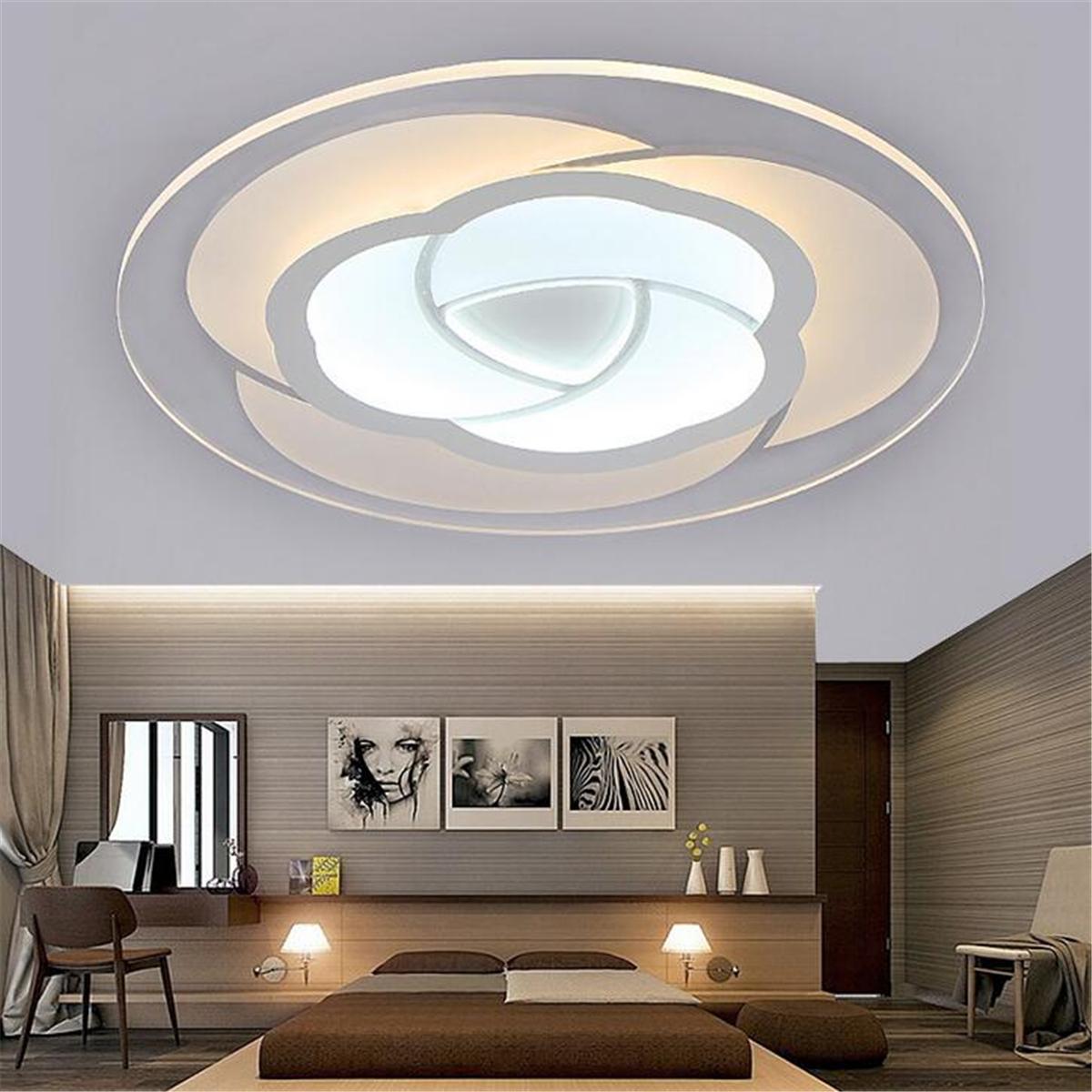Led Modern Flower Acrylic Ceiling Light Chandelier