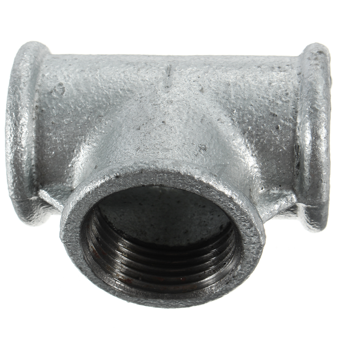 Cast Iron Pipe : Way black iron pipe threaded coupling tee fittings cross