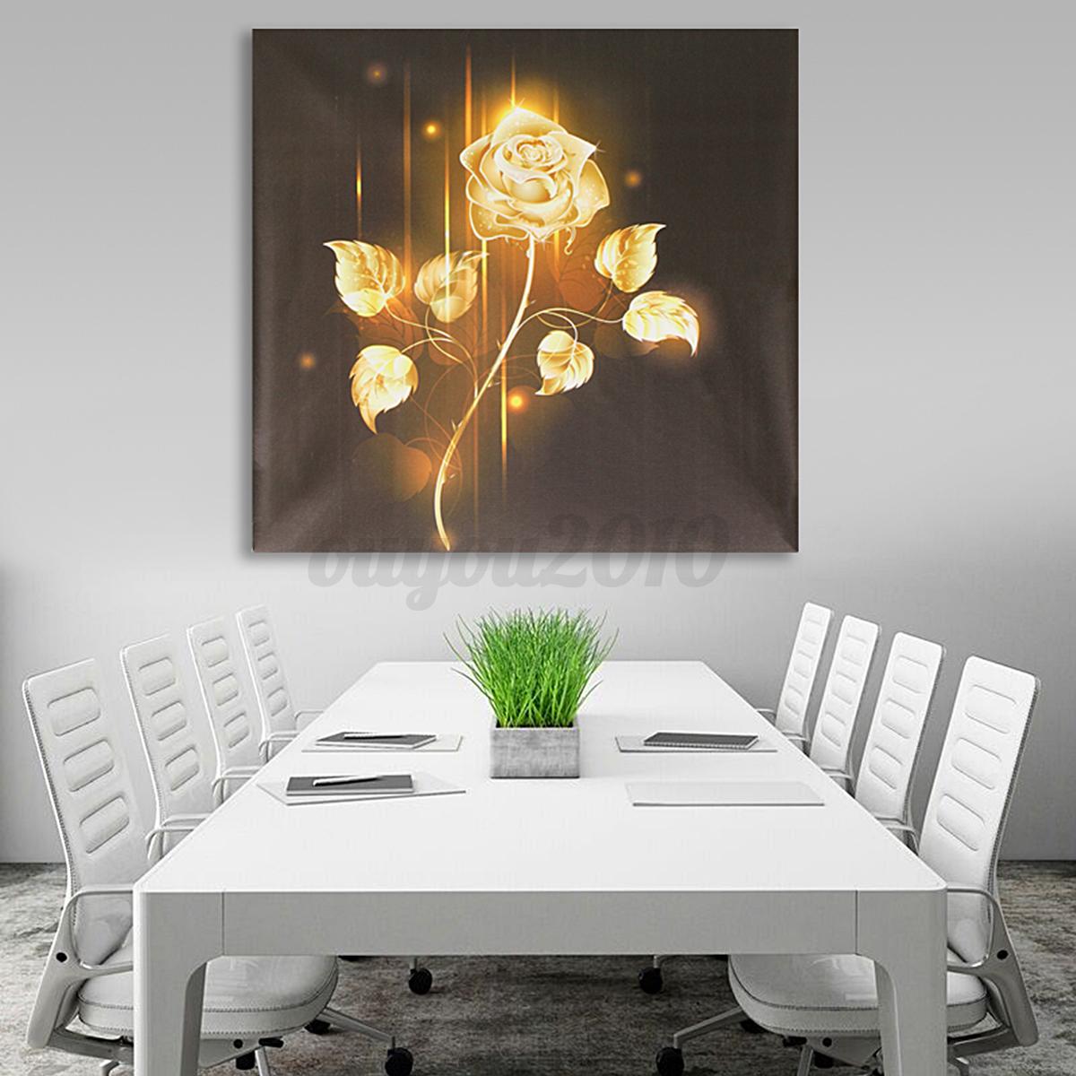 Abstract Modern Oil Painting Art Unframed Canvas Print