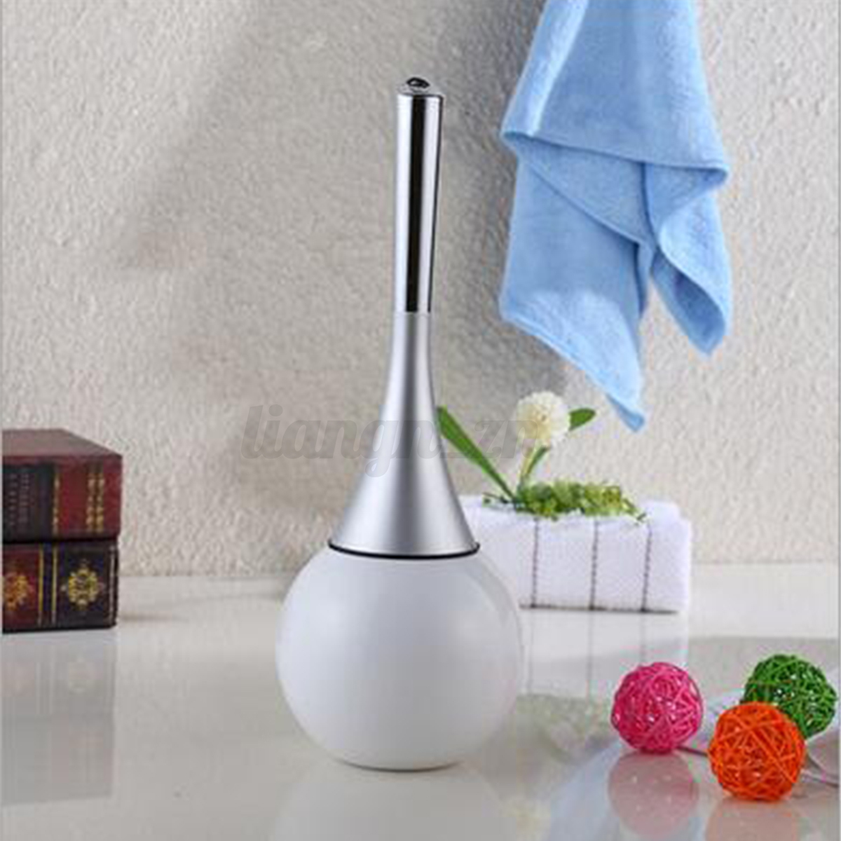 toilet brush brosse pour toilette bidet wc salle de bain nettoyage support inox ebay. Black Bedroom Furniture Sets. Home Design Ideas
