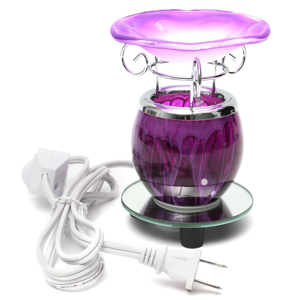 Electric Scented Essential Oil Burner Warmer Lamp Wax Bulb