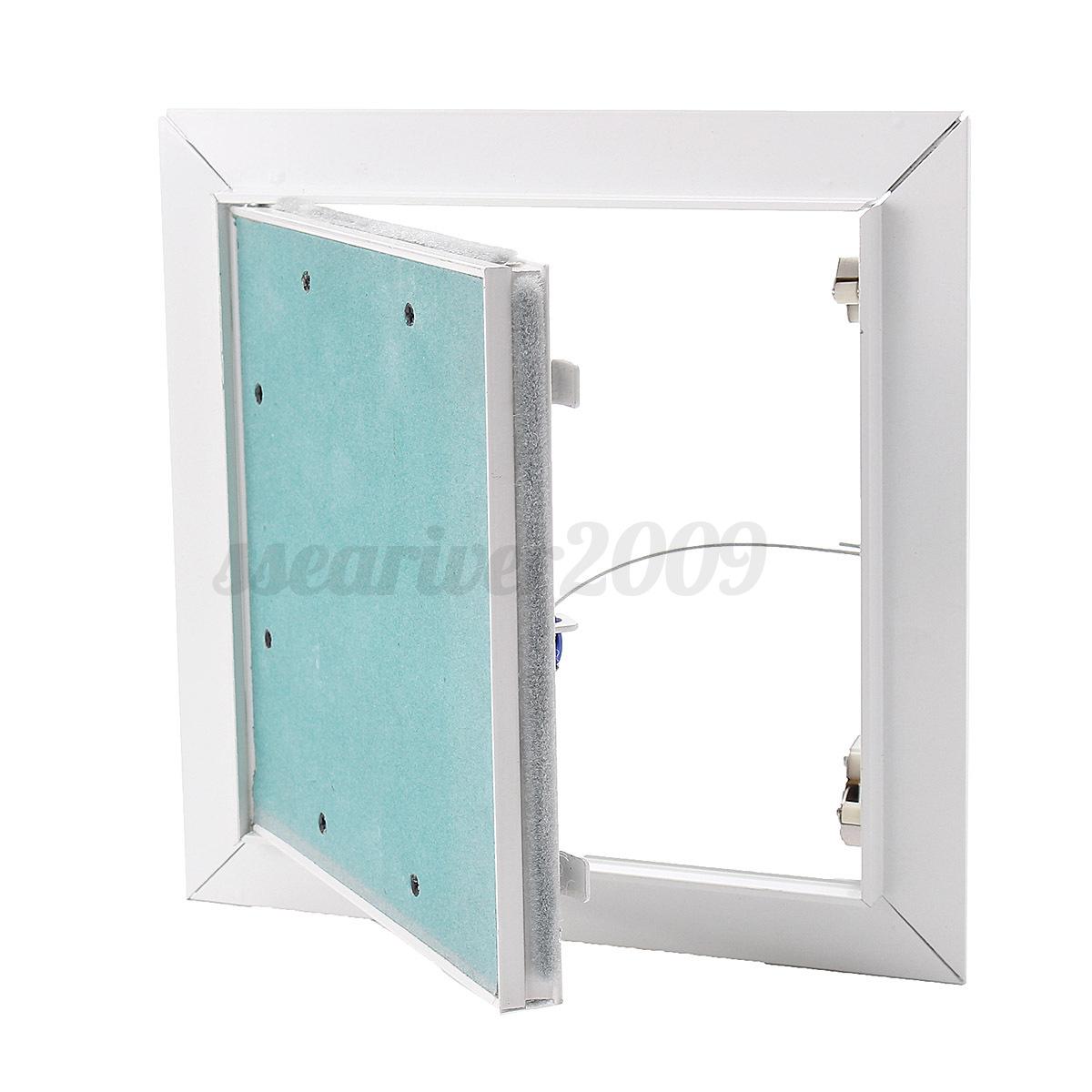 Aluminum Access Doors : Aluminum damp proof access parget panels inspection loft