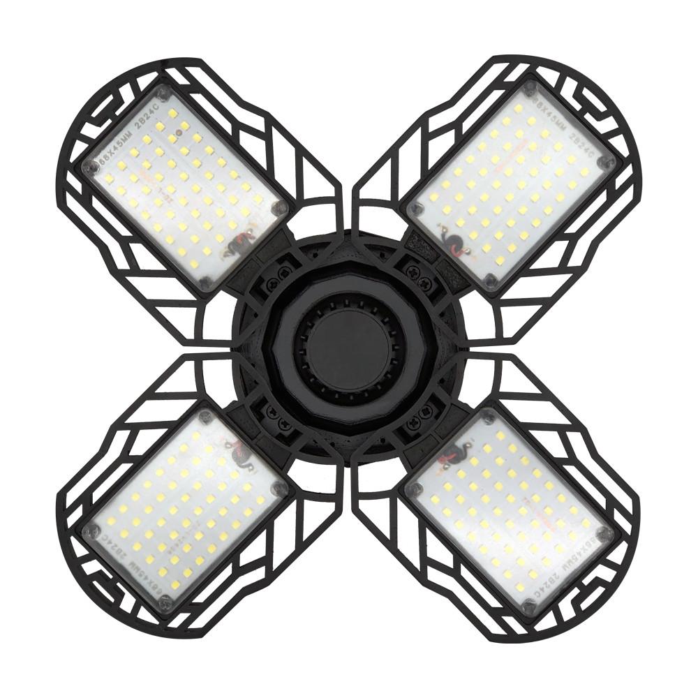 60/90/120W LED Garage Light Bulb Deformable Ceiling ...
