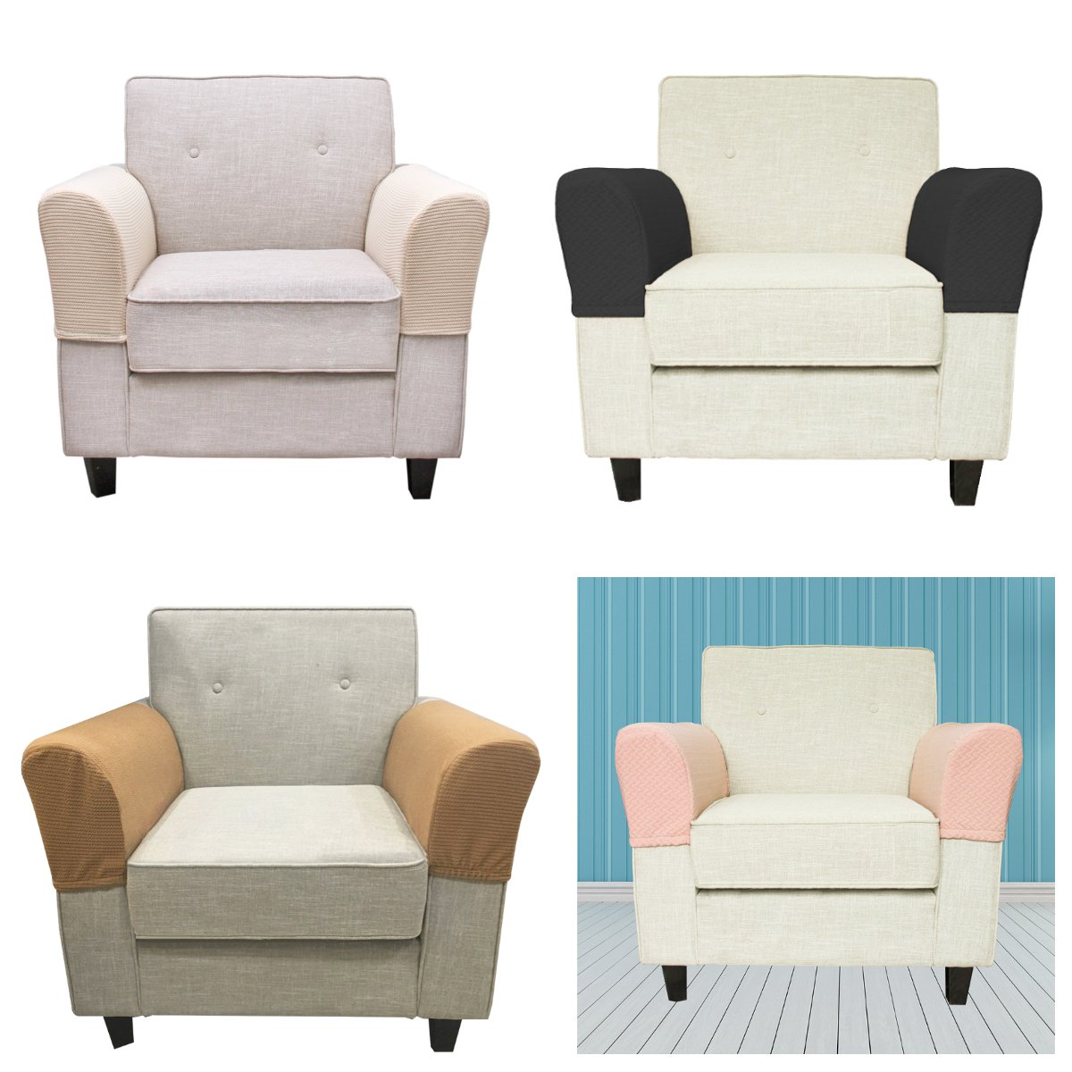 Cover s 2 pce Armchair Cover