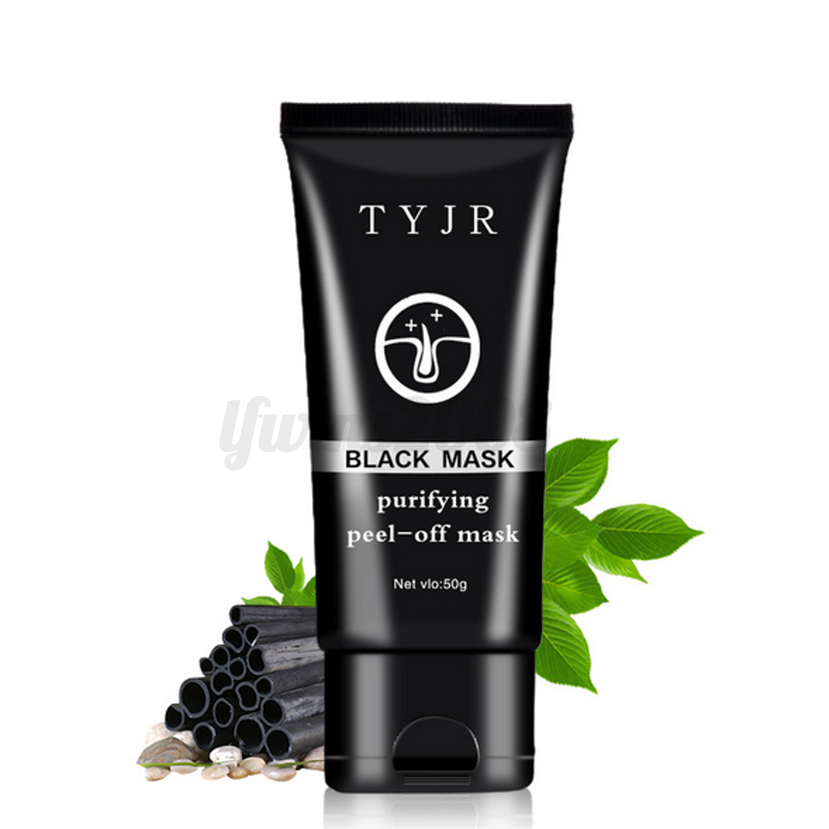 tyjr masque charbon boue anti point noir acn black mask peau nez soin nettoyage ebay. Black Bedroom Furniture Sets. Home Design Ideas